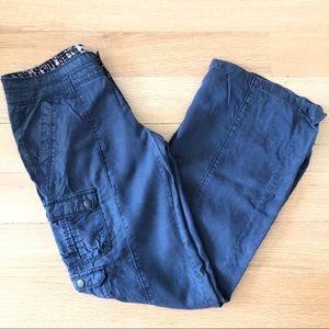 Hei Hei for Anthropologie summer cargo pants